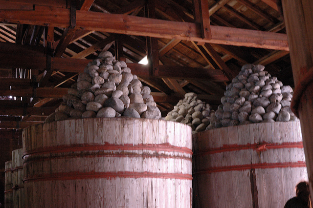 Miso Vats for fermentation
