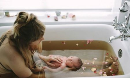 postpartum bath