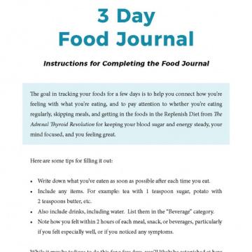 aviva_3_day_food_journal